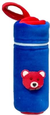 GoodStart Baby feeding bottle cover in velvet of 240ml capacity(Blue)