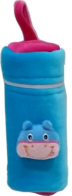 GoodStart Baby feeding bottle cover in velvet of 240ml capacity(Turquoise)