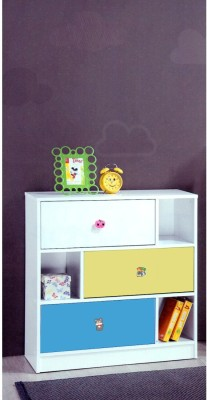 Woodness Pluto Engineered Wood Free Standing Cabinet(Finish Color - Multicolor)