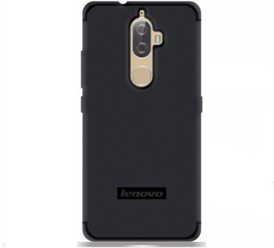 Micvir Back Cover for Lenovo K8 Plus(Black, Rubber, Plastic)