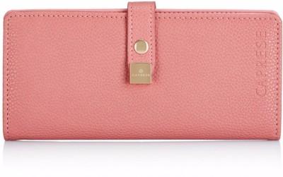 Caprese Casual Pink  Clutch