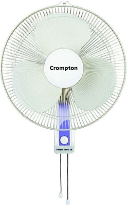 Crompton Greaves HIGHFLO LIGHT GREY 400 mm 3 Blade Wall Fan(LIGHT GREY, Pack of 1)