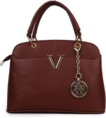 classic fashions Hand-held Bag(Brown) at flipkart