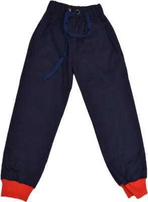Crux & Hunter Track Pant For Boys(Blue, Pack of 1) at flipkart