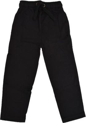 Crux & Hunter Track Pant For Boys(Black, Pack of 1) at flipkart