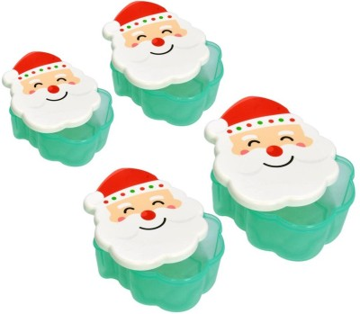 Little Kitchen Santa Claus Original Airtight Food Storage Food Container COMBO SET OF 4 1 Containers Lunch Box(250 ml) at flipkart