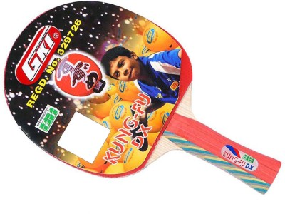 GKI Kung Fu DX In Computerised Printed Cover Multicolor Strung Table Tennis Racquet(Weight - 323 g)  available at flipkart for Rs.775