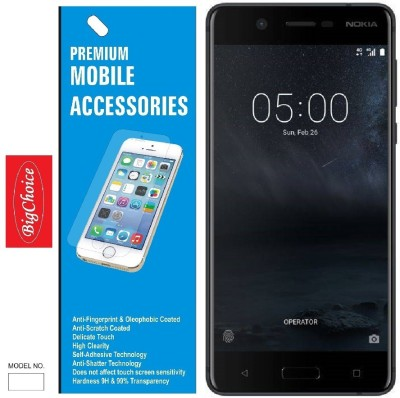 BigChoice Tempered Glass Guard for Nokia 5(Pack of 1)