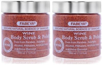 FABEYA BioCare Wine Scrub(340 ml) 1
