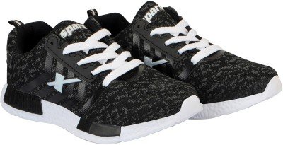 Get Sparx Black & White Running Shoes For Women