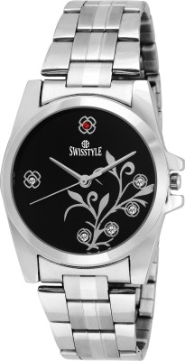 Swisstyle SS-LR008-BLK-CH  Analog Watch For Unisex