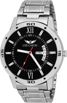 Lois Caron LCS-8010 DAY AND DATE FUNCTIONING Watch  - For Men