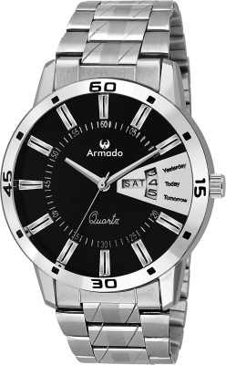 Armado AR-096-BLK Day And Date Analog Watch For Men