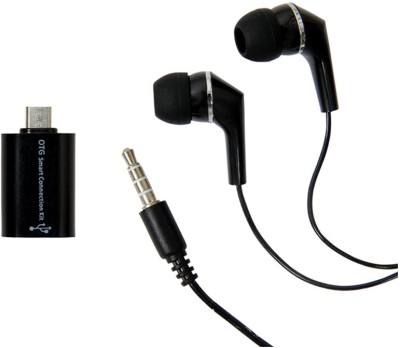 Mocell Headphone Accessory Combo for Xiaomi Redmi Note 4 Black
