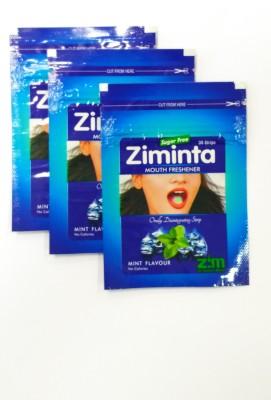 ziminta Breath Freshener Strip Mint Flavour Strip(5 g)