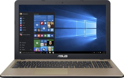 Asus APU Quad Core E2 - (4 GB/1 TB HDD/Windows 10 Home) X540YA-XO290T Laptop(15.6 inch, Chocolate B