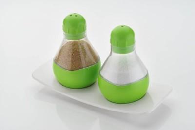 Gkart Deluxe Salt   Pepper Set Glass Gkart Condiment Sets