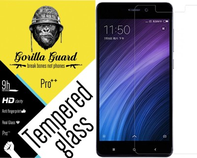 Gorilla guard Screen Guard for Mi Redmi 4(Pack of 1)