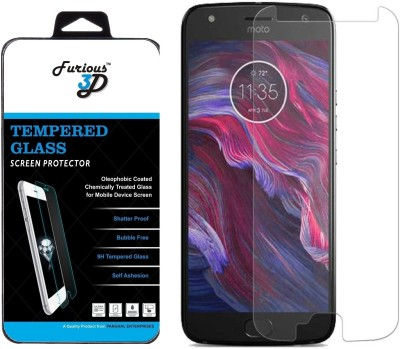 Furious3D Tempered Glass Guard for Motorola Moto X4(Pack of 1)