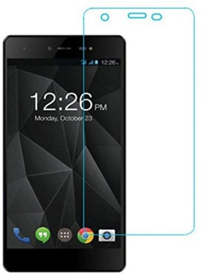 CHVTS Tempered Glass Guard for Micromax Canvas 5 Lite(Pack of 1)