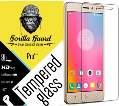 Gorilla guard Tempered Glass Guard for Lenovo K6 Power(Pack of 1)