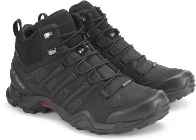 f4975c09c170f 35% OFF on ADIDAS TERREX SWIFT R MID GTX Outdoor Shoes For Men(Black) on  Flipkart