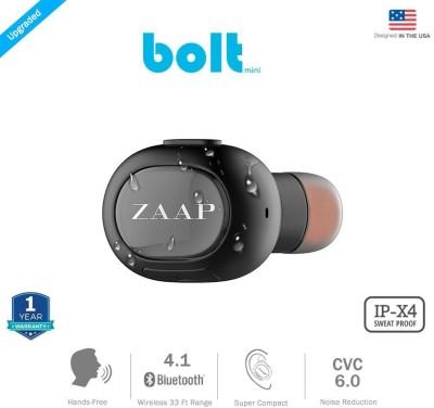 Zaap  Bluetooth Headset Bolt(Black)
