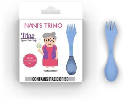Nani Trino Plastic Cutlery Set Pack of 50
