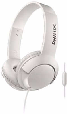 Philips SHE4205WT/00 Wired Headset with Mic(White, In the Ear)