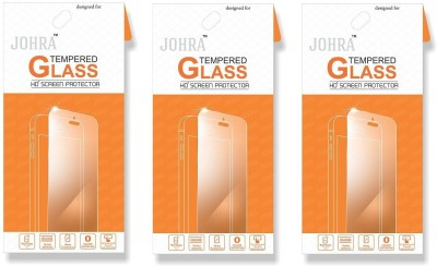 Johra Tempered Glass Guard for Samsung Galaxy On Max(Pack of 3)