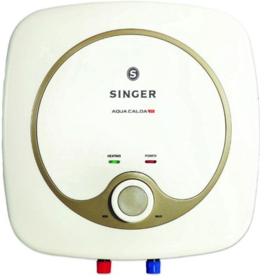 Singer 15 L Storage Water Geyser(White, Aqua Calda DX)