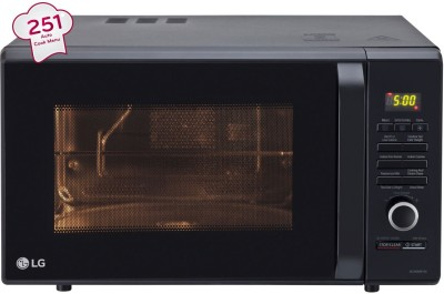 LG 28 L Convection Microwave Oven(MC2886BFUM, Black)