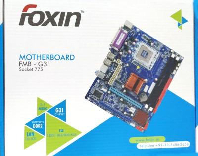 Foxin FMB-G31 Motherboard(Multicolor)