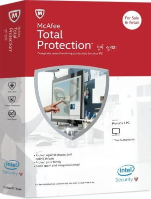 Mcafee Total Protection 1 PC 1 Year mcafeeTP1pc1y