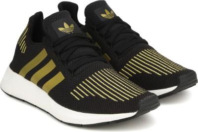 f568ce3bb 55% OFF on ADIDAS ORIGINALS SWIFT RUN W Sneakers For Women(Black ...