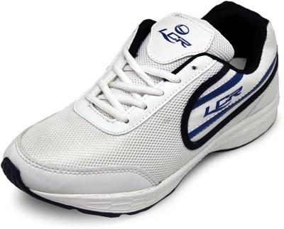 Lancer Walking Shoes For Men(White, Blue