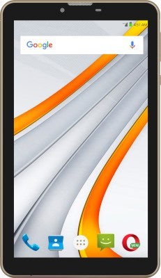 View Swipe Blaze 4G VoLTE 8 GB 7 inch with Wi-Fi+4G Tablet(Gold)  Price Online