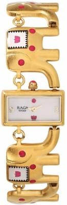 Titan 95074WM01 Masaba Watch  - For Women