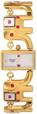 Titan 95070YM01 Masaba Analog Watch For Women