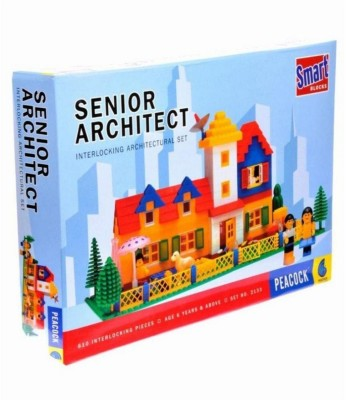 Kashti Peacock Senior Architect 233 Construction Set (Multicolor)(Multicolor)