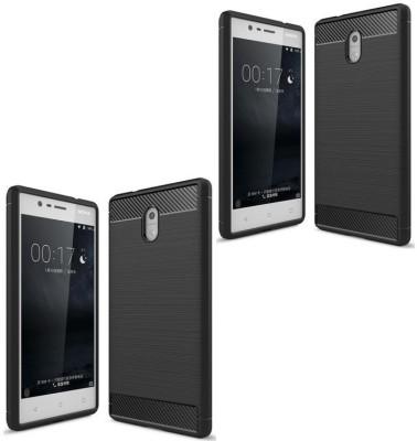 Mocell Back Cover for Nokia 3(Hybrid Black, Shock Proof, Silicon) Flipkart