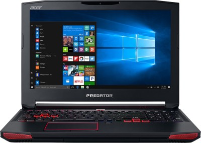 Acer Predator 15 Core i7 7th Gen - (16 GB/1 TB HDD/256 GB SSD/Windows 10 Home/6 GB Graphics) G9-593 Gaming Laptop(15.6 inch, Black, 3.7 kg)