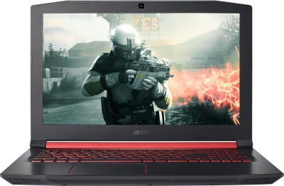 Acer Nitro 5 Core i5 7th Gen - (8 GB/1 TB HDD/128 GB SSD/Windows 10 Home/4 GB Graphics) AN515-51 Gaming Laptop(15.6 inch, Black, 2.7 kg)