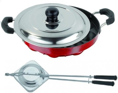 Omic Omic Classic Appam Pan Lid & Sandwich Toast Cookware Set(Aluminium, 2 - Piece)  available at flipkart for Rs.660
