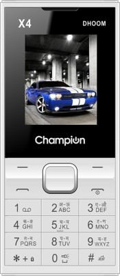 Champion X4 Dhoom(White)