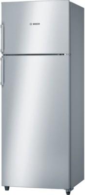 Bosch 347 L Frost Free Double Door Top Mount Inverter Technology Star Refrigerator(Inox, KDN43VL40I)