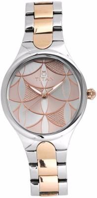 Titan 95060KM01 Whimsy Analog Watch For Women