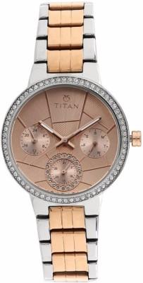 Titan 95058KM01 Whimsy Analog Watch For Women
