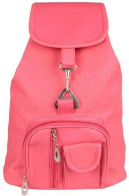 VIEW BAGS VIEW05BP 8 L Backpack(Pink)  available at flipkart for Rs.299