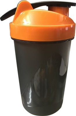 CP Bigbasket Gym 400 ml Shaker, Sipper, Bottle(Pack of 1, Orange)  available at flipkart for Rs.170